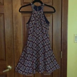 Patterned Express Dress